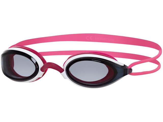 Zoggs Fusion Air Lunettes de protection, white/pink/smoke